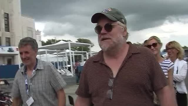 News video: Philip Seymour Hoffman Leaves Drug Detox